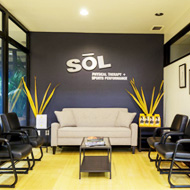 SOL Physical Therapy - Oakland office lobby