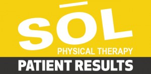 SOL Physical Therapy Patient Results