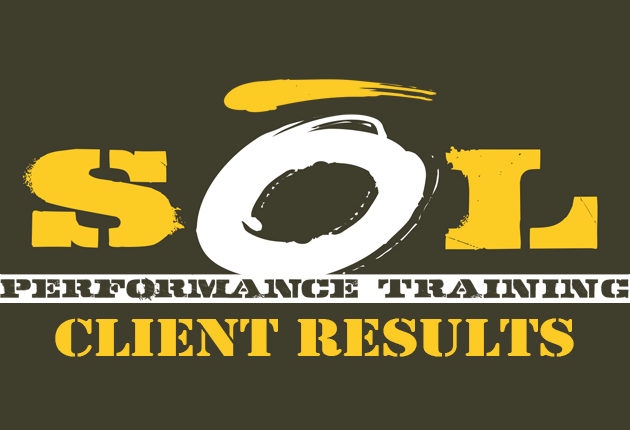 SOL Performance Training Client Results