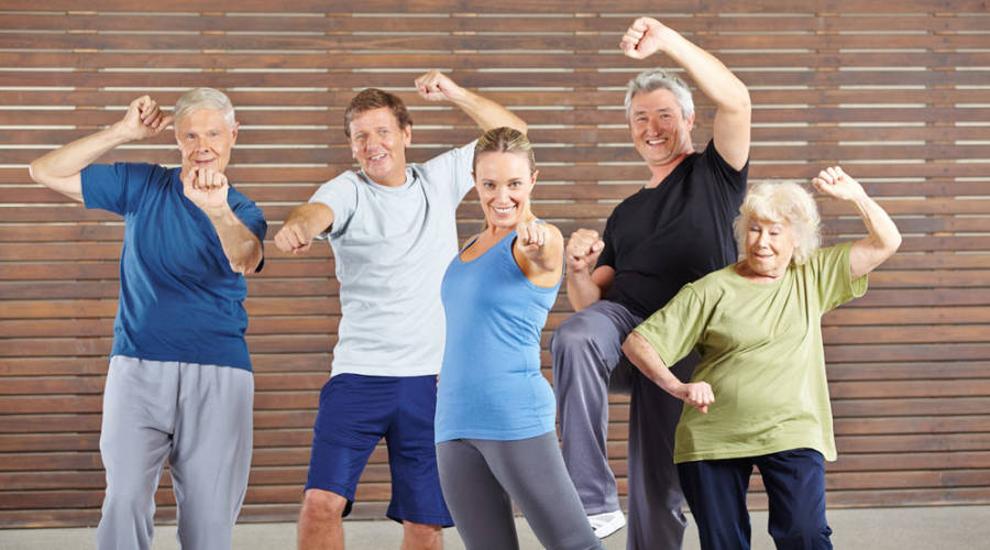 Group Fitness With Seniors